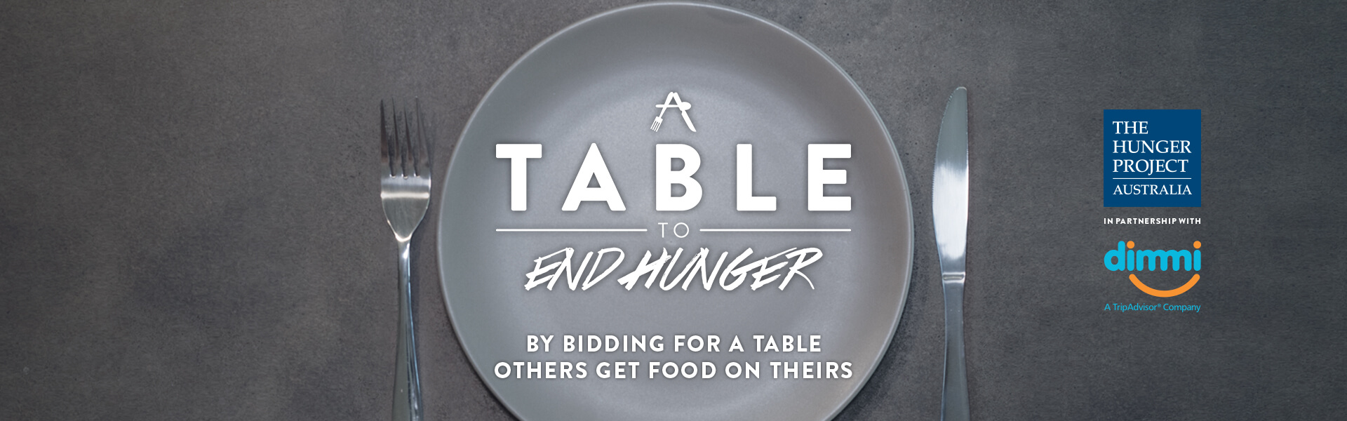 Table to End Hunger Header