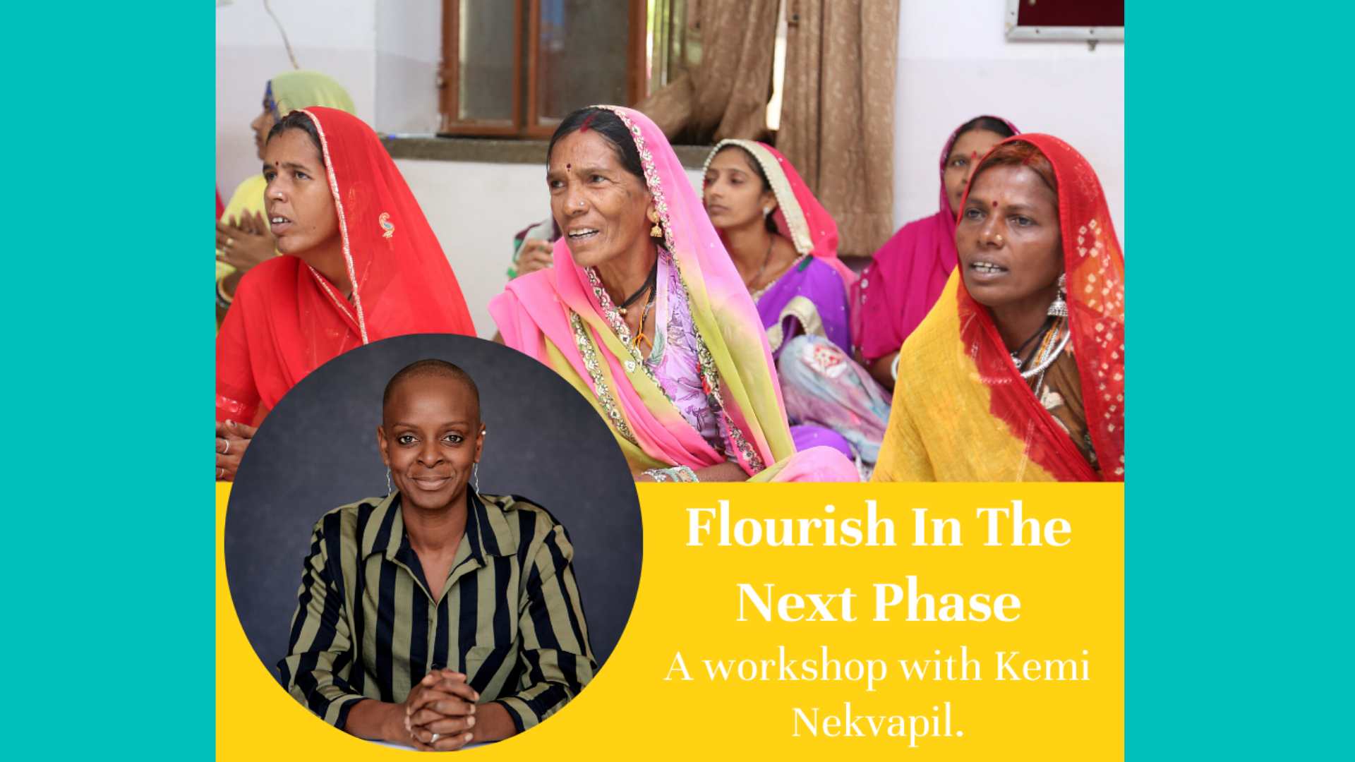 Kemi Nekvapil leads THP workshops